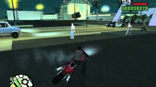 Gta san andreas-Stunts dans un parking