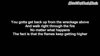 Falling In Reverse - It's Over When It's Over | Lyrics on screen | HD
