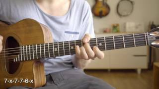 Fly me to the moon - gypsy style - chord lesson with tab
