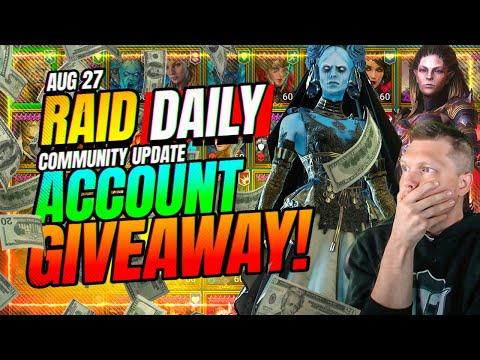 🔥INSANE Whale Account GIVEAWAY! | RAID Shadow Legends