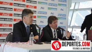 Miguel Herrera y Héctor González Iñarritu