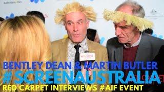 Bentley Dean & Martin Butler #Tanna interview at 2017 Australian Oscar Nominees Reception #AIF