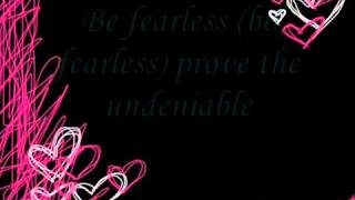 Fearless by: Daechelle (Lyrics)