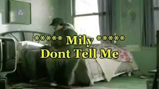 Avril Lavigne - Don't Tell Me Subtitulado Español Ingles