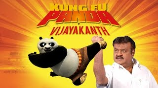 Kung Fu Panda By Captain Vijayakanth - South Indianized Trailers | Put Chutney