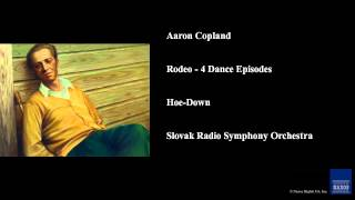 Aaron Copland, Rodeo - 4 Dance Episodes, Hoe-Down