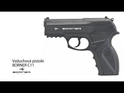 Vzduchová pistole Borner C11