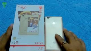 [Hindi] Itel Wish A41 Unboxing