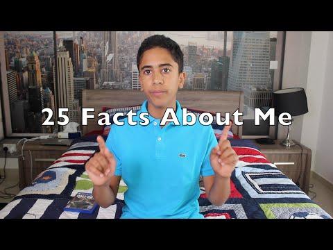 25 Facts About Me | ٢٥ معلومة عني
