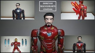 Sculpted Iron Man Infinity War Suit Up