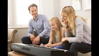 Roland E-X20 Arranger Keyboard: The portable keyboard that sparks your child's passion for music.
