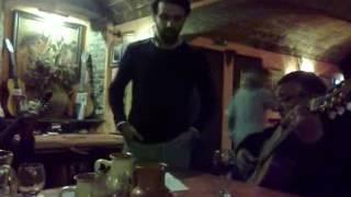 Ricardo Maria Louro diz A Balada da Neve às guitarras - Ensaio.