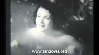 """Libertad Lamarque en la pelicula """"El Tango en el Cine"""""""