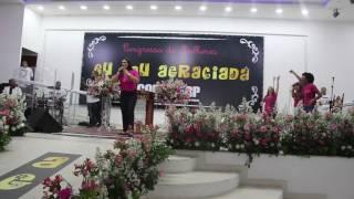 Pastora Rosane Paiva no 1º Congresso de Mulheres Eu Sou Agraciada Rio Das Prdras Parte 1