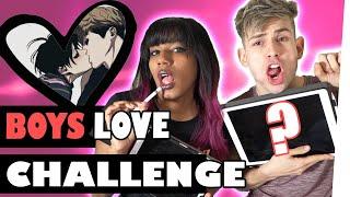 LETS DRAW Boys Love Challenge ft. MyriamMcFly   Kostas Kind