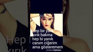 Demet Akalın-Hayalet (lyrics)