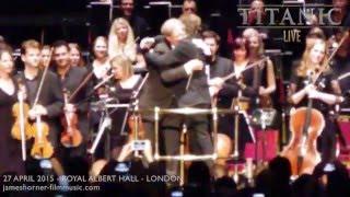 TITANIC LIVE 2015 - ROYAL ALBERT HALL - STANDING OVATION