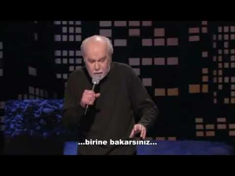 George Carlin - Şişman İnsanlar (Türkçe Altyazı)
