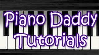 Sun Zara (Lucky) Piano Tutorial ~ Piano Daddy