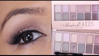 Fresh and Sultry Maybelline The Blushed Nudes Palette Tutorial!