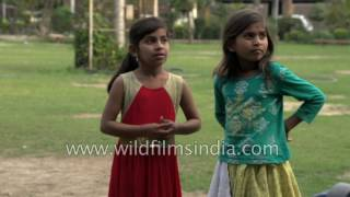 French Opera singer tries to teach Indian street children to sing operatically