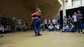 Frans and Sarah kizomba with tarraxinha touch | MDO - Maluco (feat. Mr.Carly)