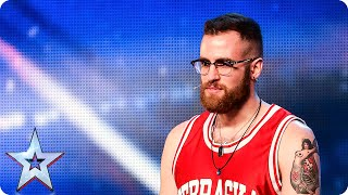 Will Luca Calò's singing and dancing split the Judges? | Britain's Got Talent 2015