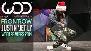 "Justin ""Jet Li"" Valles | FRONTROW | World of Dance Las Vegas 2014 #WODLV"