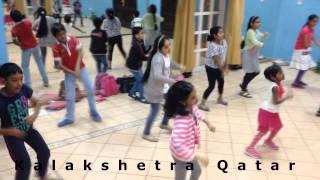 Punjabi Wedding song (Hasee Toh Phasee)- Bollywood Dance Class at Kalakshetra Qatar.