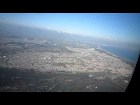 Take off Cape Town South Africa to Istanbul Turkish Airlines #3