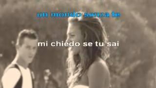 UN MONDO SENZA TE KARAOKE  base musicale Angelo Giurlanda