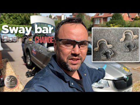 Skoda Superb Rear Anti Roll Bar Bushing Replacement | Sway Bar Bushing