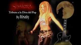 Tributo a Shakira por Rósaly en España