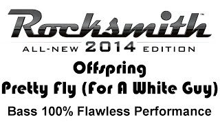 "Offspring ""Pretty Fly (For A White Guy)"" Rocksmith 2014 bass cover finger"