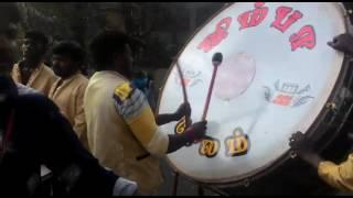 Jimba Digital drums program (thappu set) in edakazure kerla