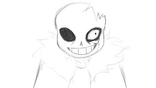 Horrortale (Undertale) The Law  - Animation - Rough Animatic