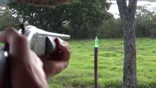 Tiro com espingarda calibre 36 - Cartucho SG4