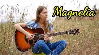 (Martin Tallstrom) - Magnolia - Fingerstyle Guitar Cover - Marzena Pieśkiewicz