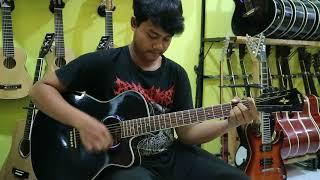 Review gitar yamaha apx 500ii akustik elektrik custom