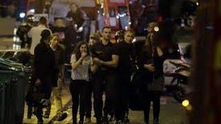 Zamach terrorystyczny na koncercie w Paryżu.  --  Terrorist attack at a concert in Paris