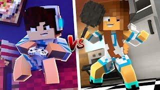MENINO VS MENINA ‹ Minecraft Machinima ›
