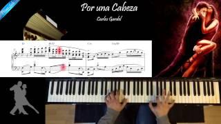 """""""Por una cabeza"""" Piano Solo Cover"""