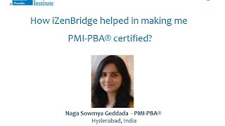 Participant - Naga Sowmya Geddada : Certified Professional in Business Analysis - PMI-PBA®