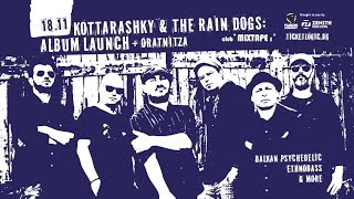 "18.11.16: Kottarashky & The Rain Dogs present ""Cats, Dogs and Ghosts"" @ club *MIXTAPE5* A-side"