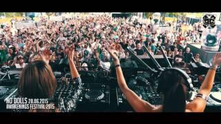 NO DOLLS @ AWAKENINGS FESTIVAL 2015 - AMSTERDAM, NETHERLANDS (Teaser)