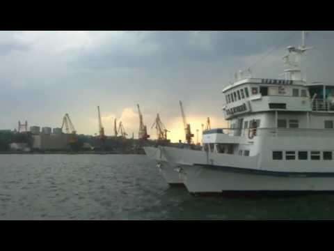Ferryboat Docking in Odessa