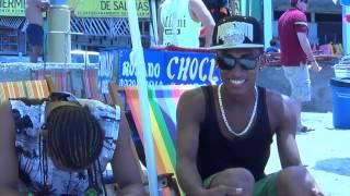 Tras camara del video  Vamos a la Playa