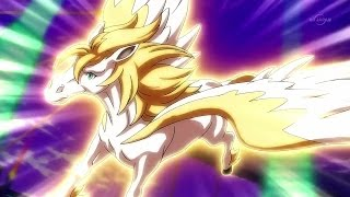 Inazuma Eleven GO! Galaxy - Tótem de Arion (Pegaso) + Tormenta, Tornado, Huracán