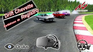 Drift Assetto Corsa - Oculus Rift - Drift de Chevette em Registro