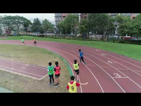 1080318新北市龍埔國小六年級4x100接力決賽 - YouTube